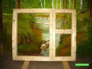 Деревянные окна ОС, ОР, ОРУ, террасные рамы Москва