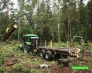 Полуприцеп лесовоз Oniar 9 тонн Москва
