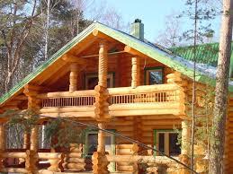 Дома из рубленного бревна