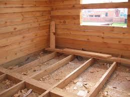 Как положить деревянный пол