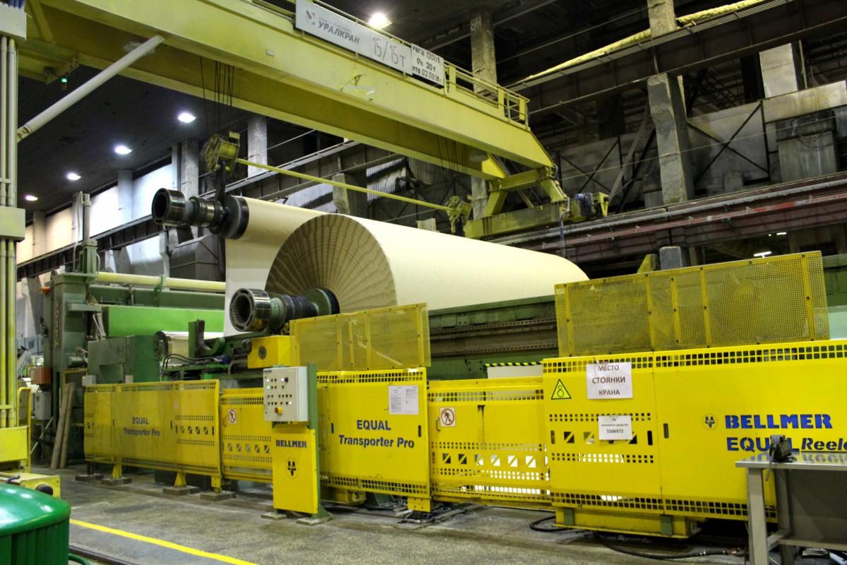 На производстве картона АЦБК началась подготовка к запуску новой вакуумной системы КДМ-2