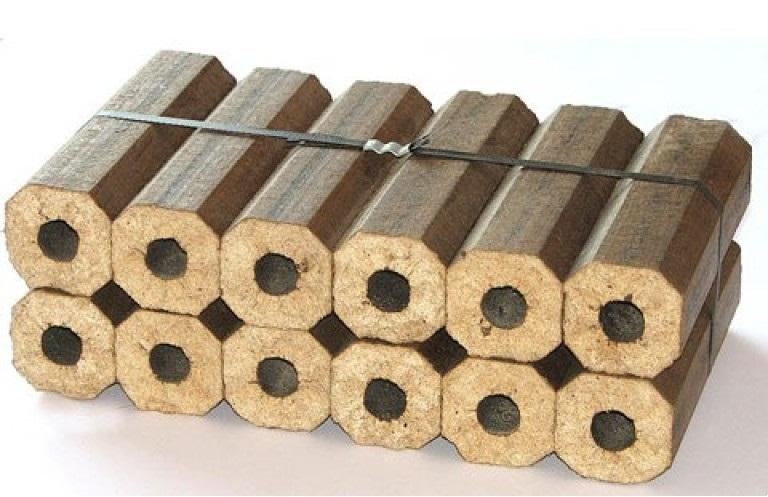 Производство брикетов из опилок