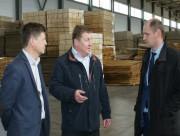 Фундамент нового цеха фанерного завода «Устье - Лес» заложен в Вологодской области