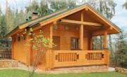 Дома из сухого профилированного бруса - особенности строительства