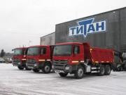 К своему 26-летию ГК «Титан» построила ремонтно-гаражный комплекс стоимостью 70 млн. руб