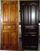 Реставрация деревянных дверей