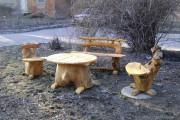 Чертежи садовой мебели из дерева