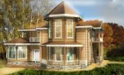 Проекты и чертежи деревянных домов