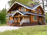 Проекты и чертежи деревянных коттеджей