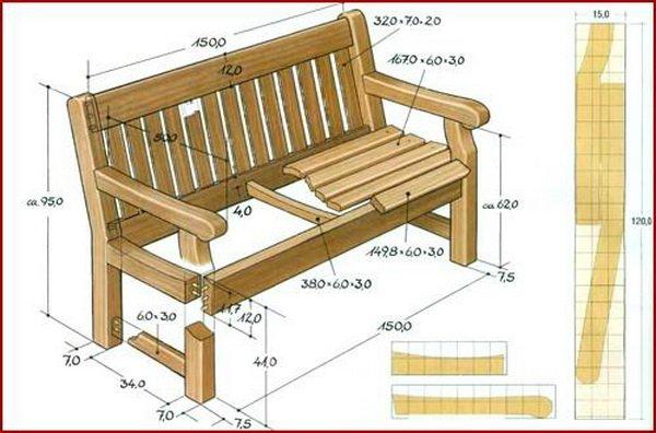 Изготовление мебели схема и чертеж