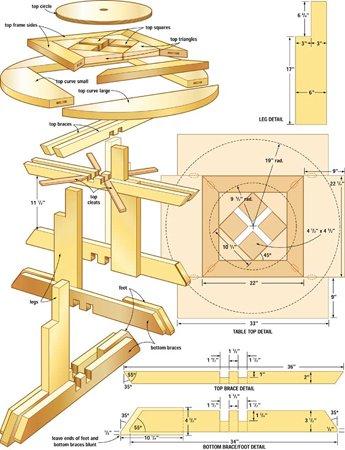 Комплект чертежей корпусной мебели