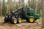 В Бельгии проводятся вырубки лесонасаждений с помощью немецких харвестеров