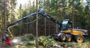 «EcoLog» переводит новую серию харвестеров на двигатели «Volvo»