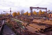 Главные районы лесозаготовок России