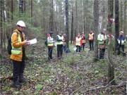 """В Лисинском лесничестве состоялся семинар """"Новые нормативы лесопользования как основа эффективного лесного хозяйства"""""""