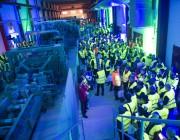 Световое шоу открыло новую лесопильную линию