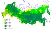 Сохранение лесистости территории государства в прошлом году обеспечено примерно на 46%